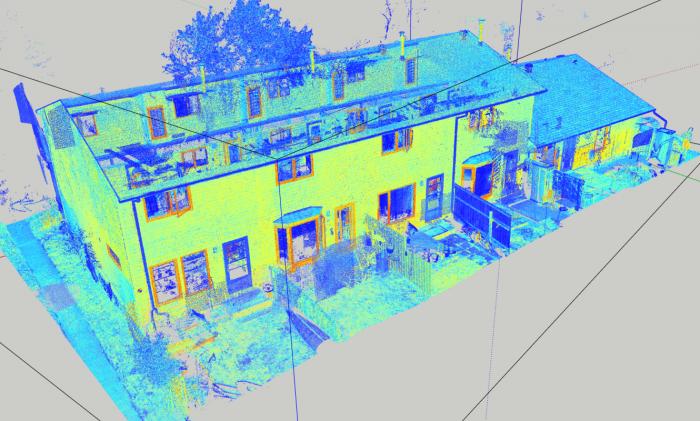 Digital Capture using a LEICA BLK360 Laser Scanner